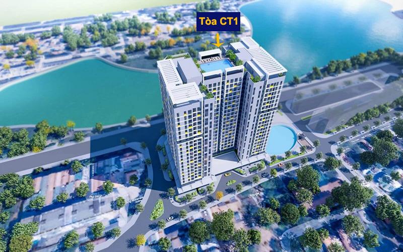 Tòa Ct1 Nhà ở xã hội Thượng Thanh