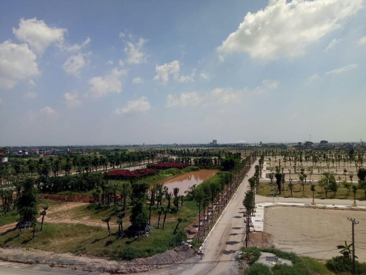 Tiến độ xây dựng dự án Hoà Phát Forestar Hưng Yên